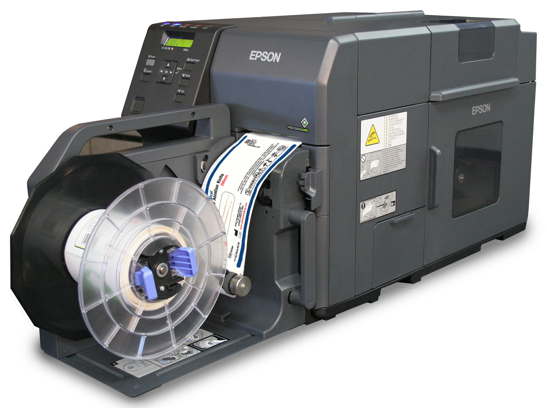 Epson C7500 high speed label printer